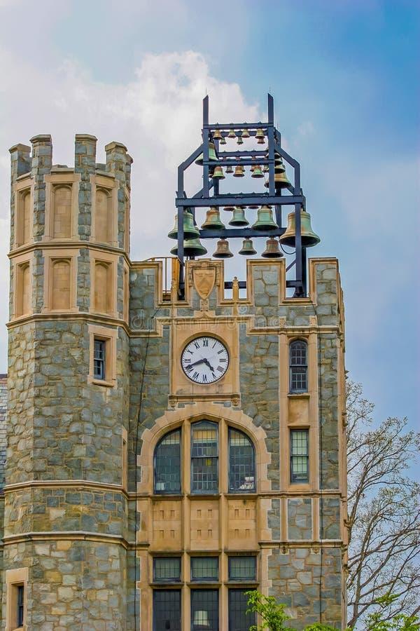 Kamienny dzwonkowy wierza obraz royalty free
