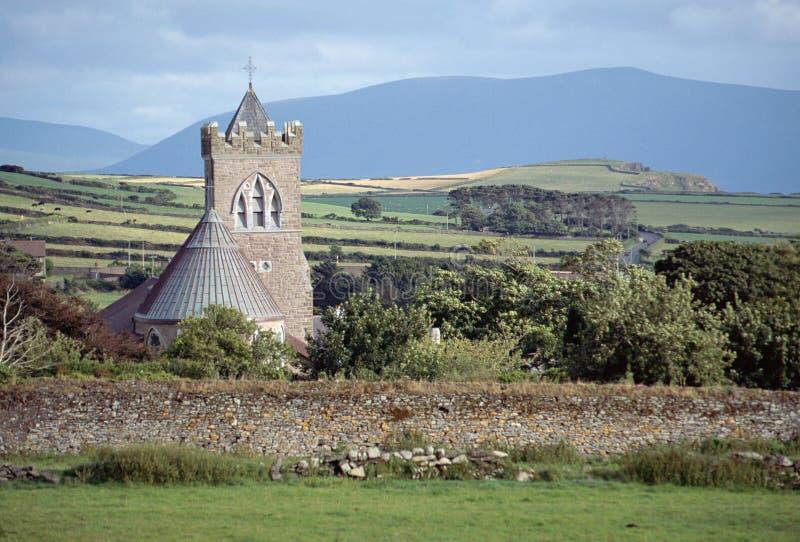 Kamienny kościół w Irlandia fotografia stock