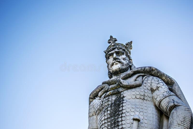 Kamienny królewiątko zdjęcia royalty free