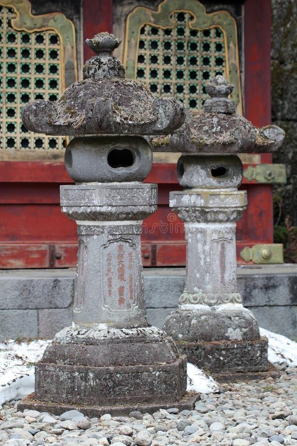 Kamienny lampion zdjęcia stock