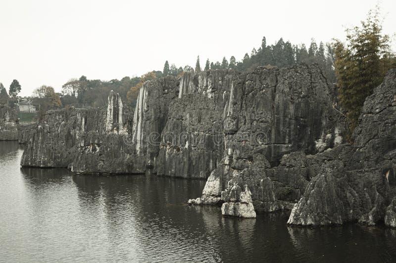 Kamienny las - pierwszy cud świat zdjęcia stock