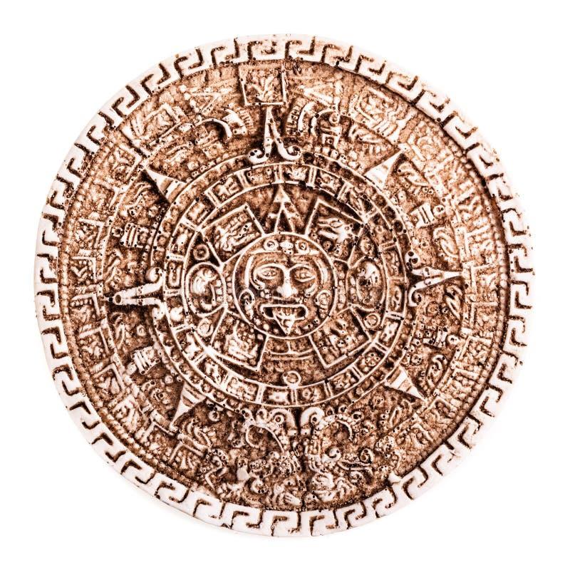 Kamienny majowie kalendarz fotografia stock