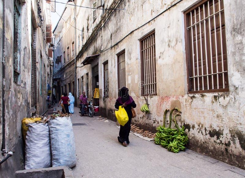 Download Kamienny Miasteczko, Zanzibar Obraz Editorial - Obraz złożonej z stary, wschód: 53789745