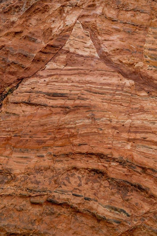 Kamienny rockowy tło tekstury wzór fotografia stock