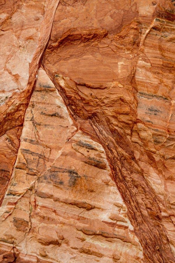 Kamienny rockowy tło tekstury wzór zdjęcie stock