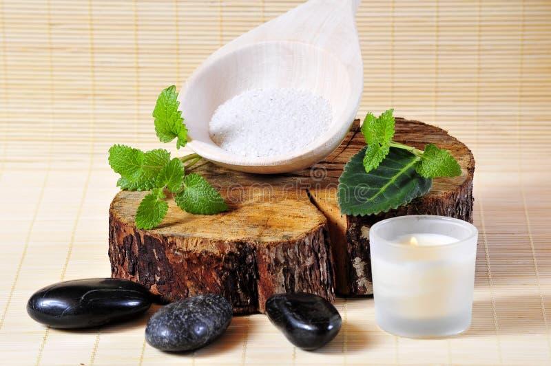 kamienny sauna wellness fotografia stock