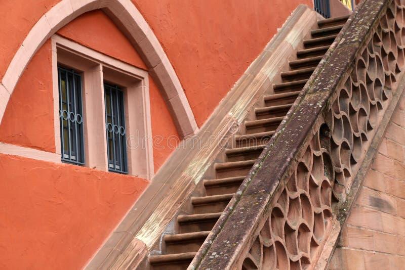 kamienny schody stary pałac obrazy royalty free