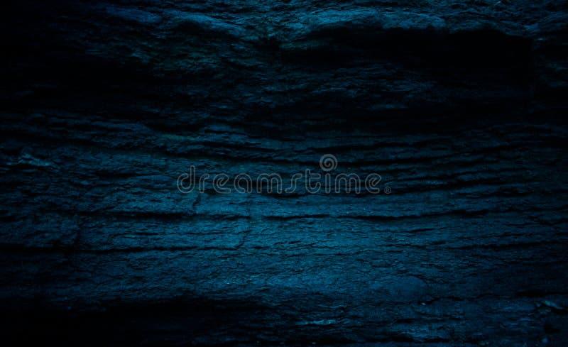 Kamienny wrzosowisko w błękitnych brzmieniach obrazy royalty free