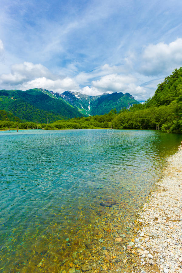 Free Kamikochi Taisho Pond Mount Hotaka Dake V Royalty Free Stock Photography - 81073987