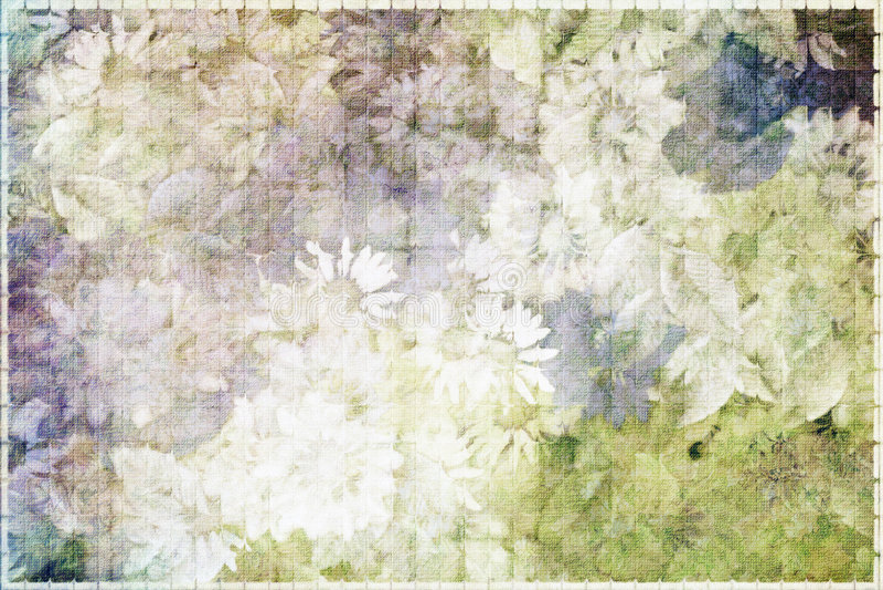 Kamillenwiese stock abbildung