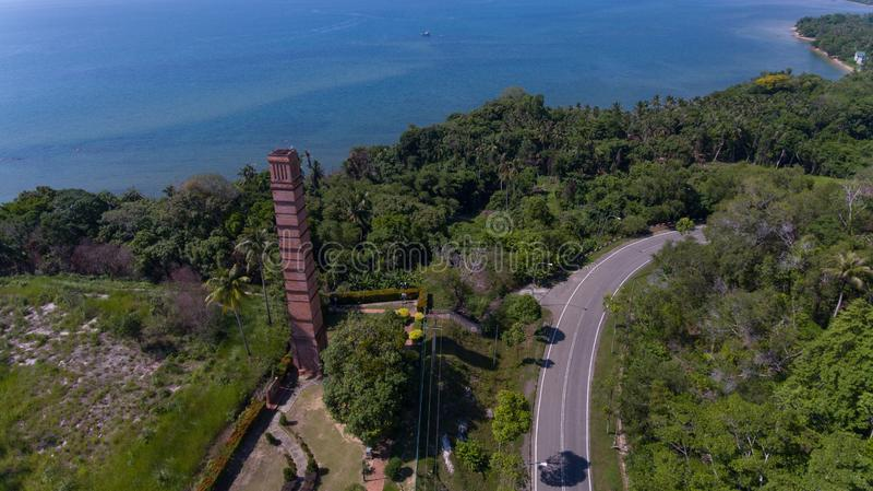Kamin Labuan Malaysia stockbild
