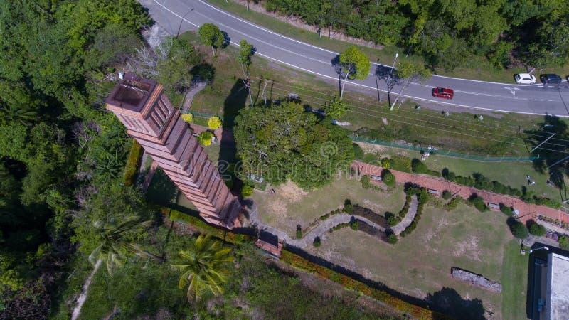 Kamin Labuan Malaysia lizenzfreies stockfoto