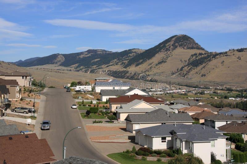 Kamloops, Canada. Sleepy suburban residential district townscape stock photos