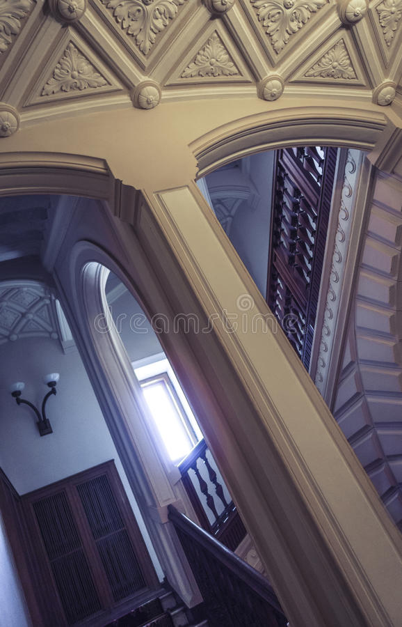 Kammare av den Massandra slotten, Krim fotografering för bildbyråer