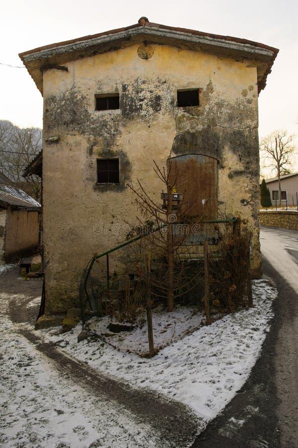 Kamnodorp in Slovenië royalty-vrije stock fotografie