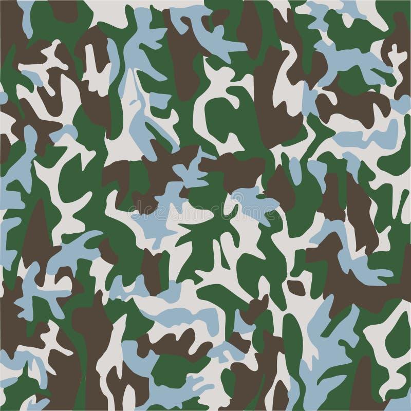 Download Kamouflage stock illustrationer. Illustration av utrustning - 980917