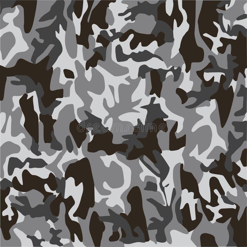 kamouflage royaltyfri illustrationer