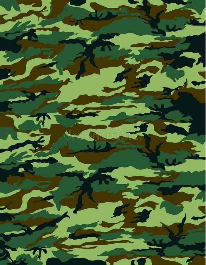 kamouflagevektor royaltyfri illustrationer