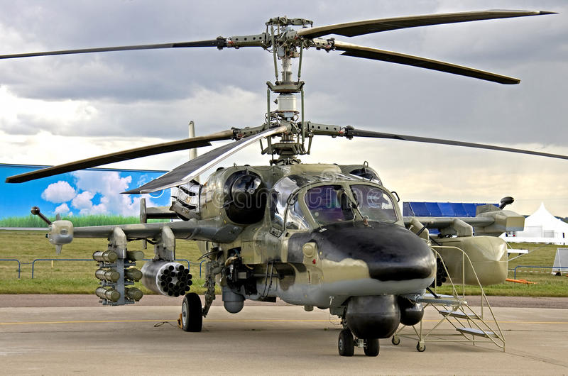 Kamov-52 Heliicopter (1) lizenzfreie stockfotos