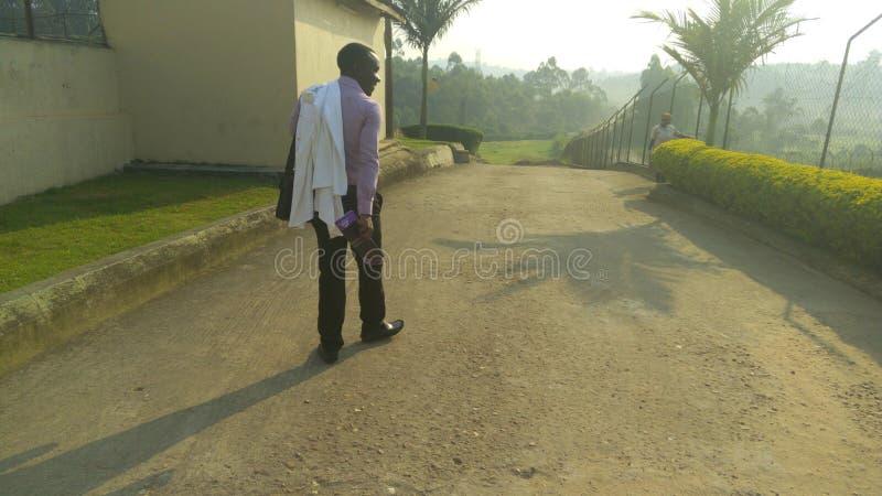 Kampala internationaluniversitet royaltyfri fotografi