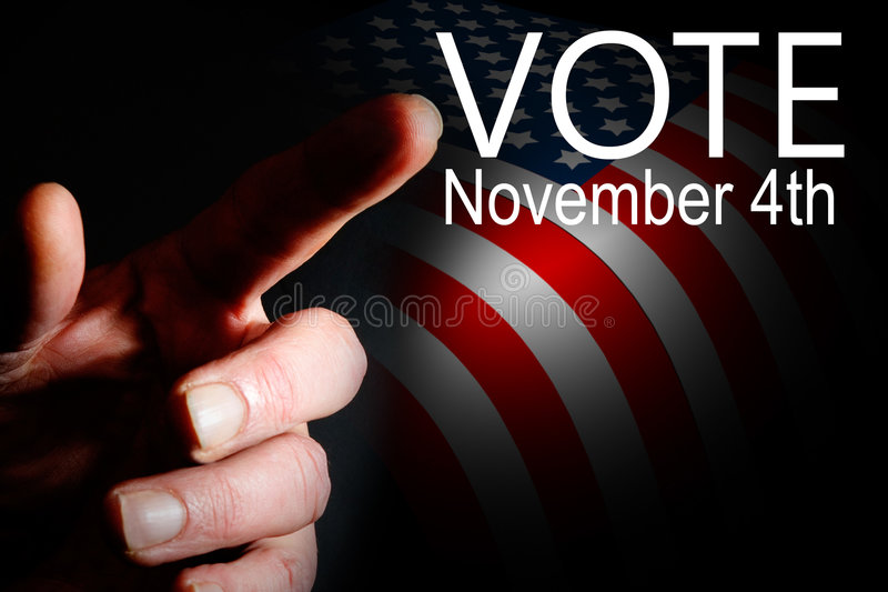 kampania dzień wyborów głosowanie fotografia royalty free