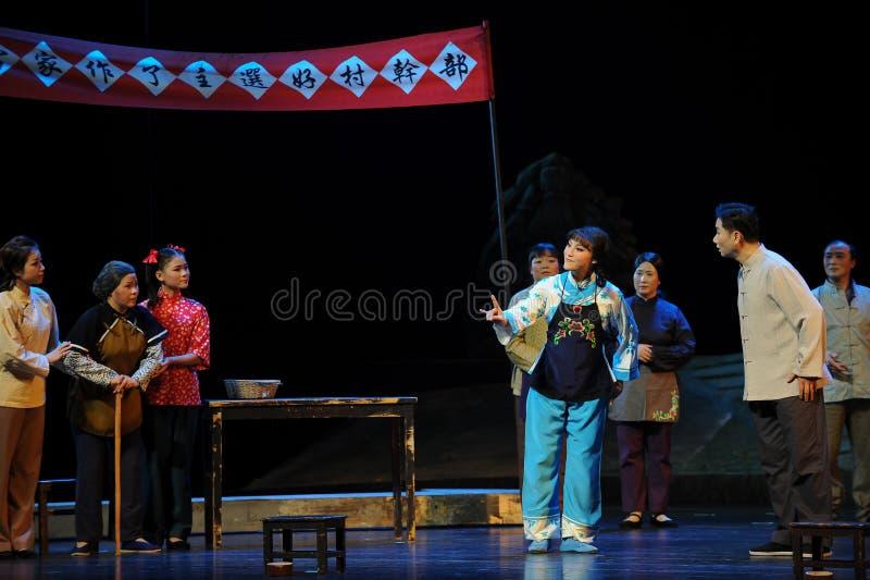 Kampania rap Jiangxi opera bezmian obraz royalty free