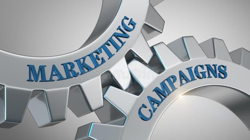 Kampanii marketingowej pojęcie ilustracja wektor