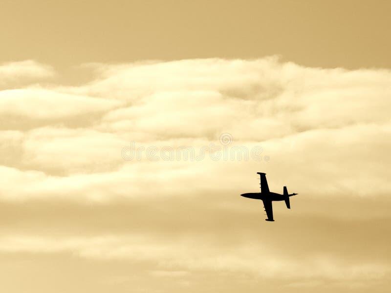 Kampfflugzeug IV Lizenzfreies Stockfoto