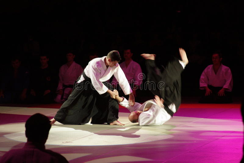 Kampfkunstfestival in Russland stockfoto