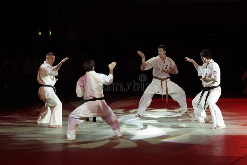 Kampfkunstfestival in Russland stockbilder