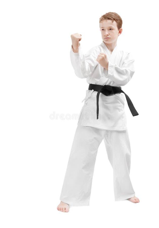 Kampfkunstjunge lizenzfreie stockbilder
