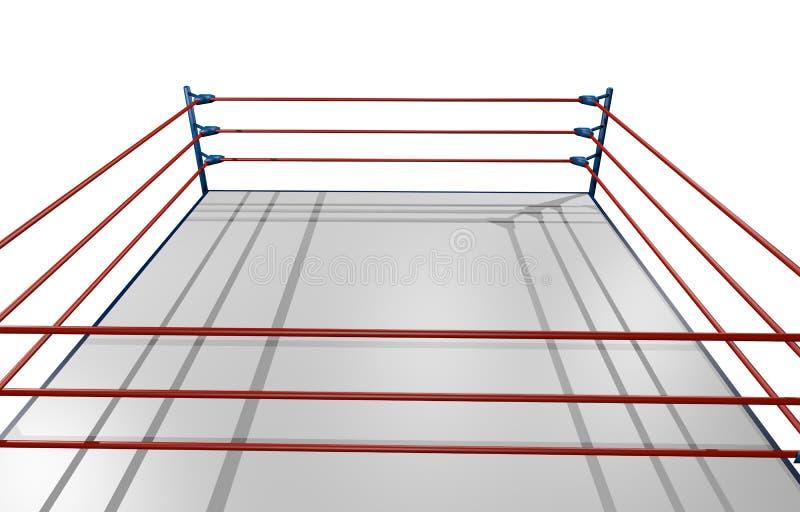 Kampfringkampf stock abbildung