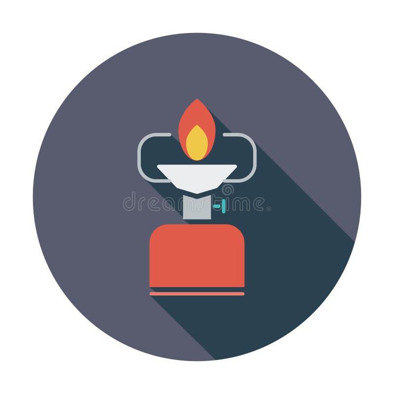 Download Kampierender Ofen vektor abbildung. Illustration von metall - 90231512