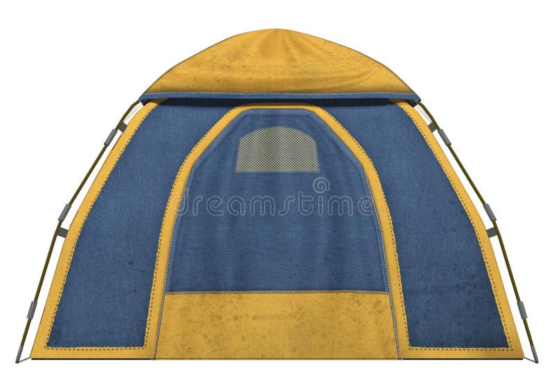 Kampierendes Zelt vektor abbildung