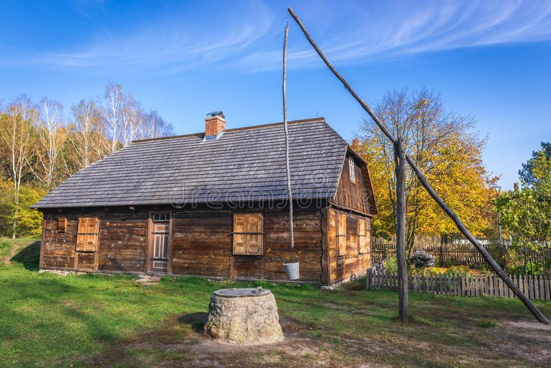 Kampinos Forest Museum in Poland royalty free stock photos