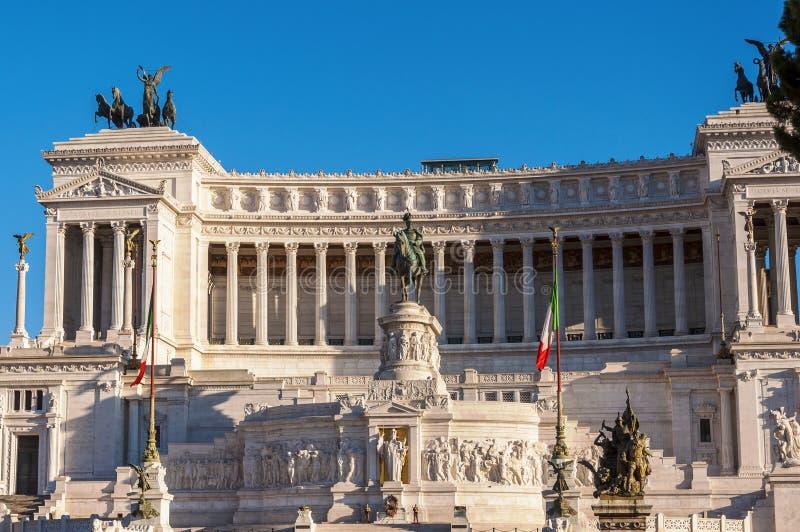 Kampioen Emmanuel II monument royalty-vrije stock afbeelding