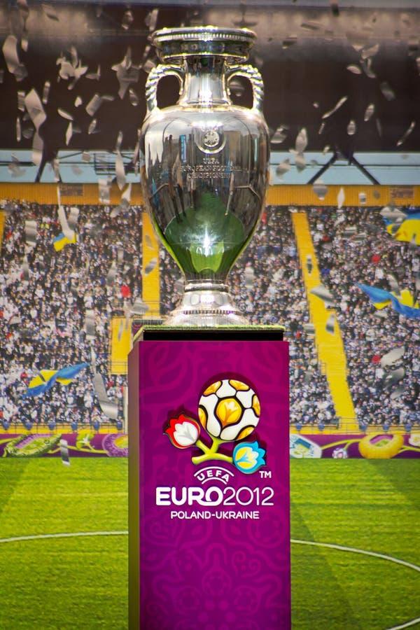 Kampioenschap 2012 van de Voetbal van de kop het Europese stock afbeeldingen