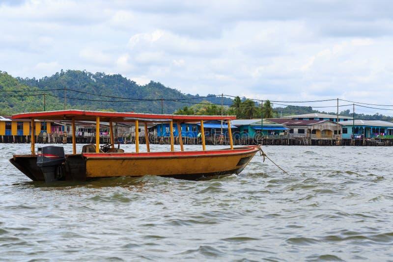 Kampong Ayer imagens de stock