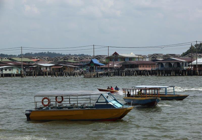 Kampong de Ayer foto de stock