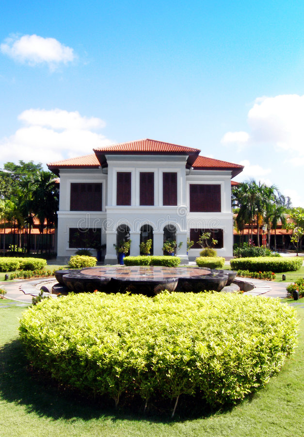 Kampong Glam d'Istana photos stock