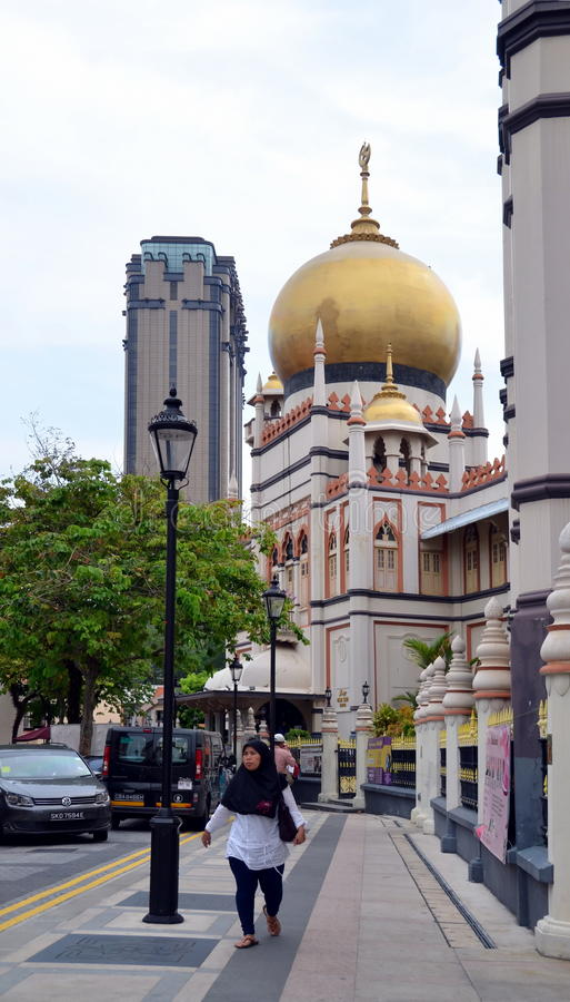 Kampong Glam royalty free stock image