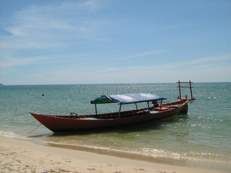 Download Kampong Som Beach Royalty Free Stock Photos - Image: 4091188