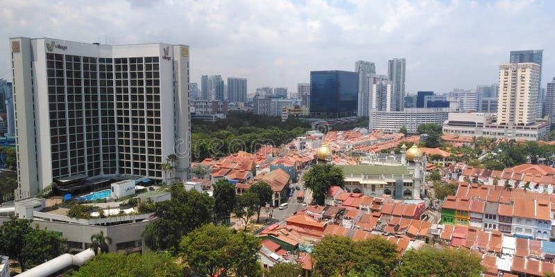 KampongGlam, Singapore royaltyfri foto