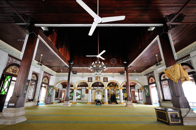 Kampung Kling清真寺在Melaka 马来西亚 库存图片