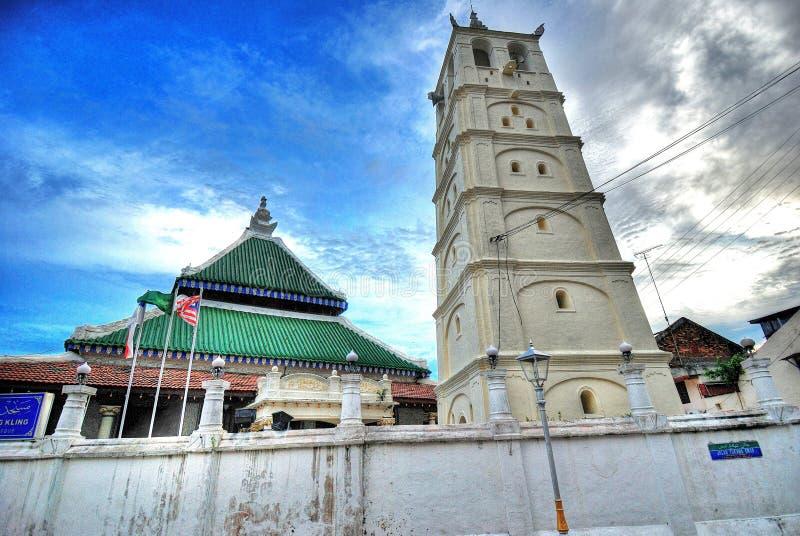 Kampung Kling Moschee lizenzfreies stockbild