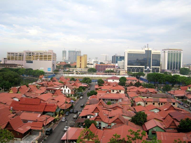 Kampung morten melaka, Malaysia royaltyfri foto