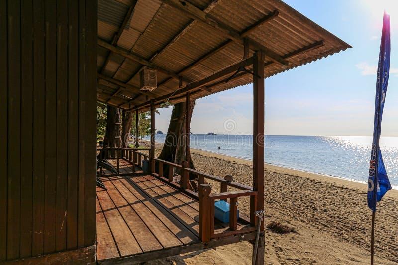 Kampung Tekek στο νησί Μαλαισία Tioman στοκ φωτογραφίες με δικαίωμα ελεύθερης χρήσης