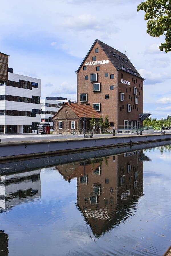 Kampus Uniwersytecki Kleve Niemcy zdjęcie stock