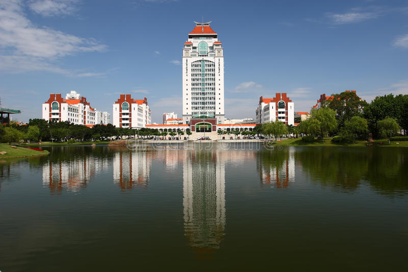 Kampus Xiamen uniwersytet fotografia stock