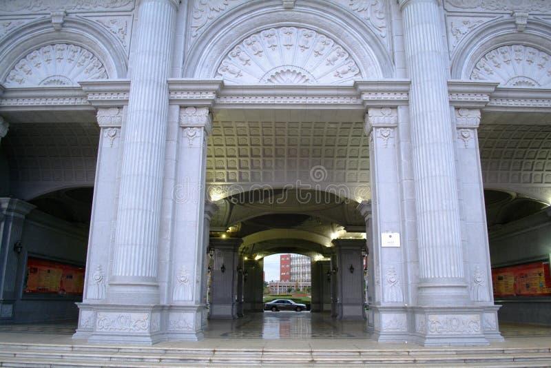 Kampusu budynek obraz royalty free